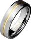 Кольцо из Тистена (титан+вольфрам) SPIKES