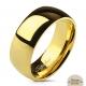 Глянцевое полированное обручальное кольцо SPIKES